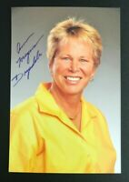 ANN MEYERS WNBA HOF Phoenix Mercury Auto Autographed Signed 4x6 Photo 1
