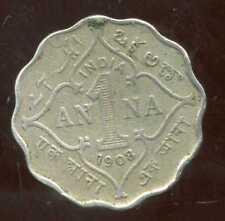 INDE britannique  1 anna 1908