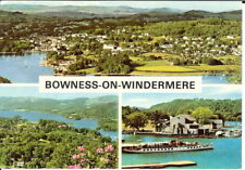 Lake District: Bowness-On-Windermere, Multi-view - Posted 1986