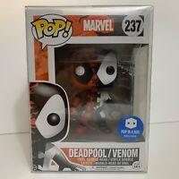 Deadpool / Venom Funko POP NIB Marvel 237 Pop in a Box Exclusive Soft Protector