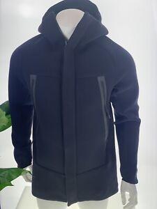 Nike Tech Fleece Parka - S - 805142-010 Jacket Black