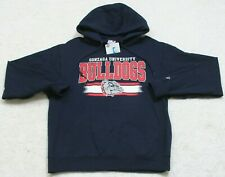 New Russell Athletic Sweatshirt Top Cotton Polyester Gonzaga Medium Long Sleeve