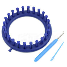 Blue Classical Round Circle Hat Knitter Knifty Knitting Knit Loom Kit 14CM