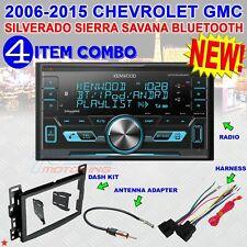 KENWOOD 04-10 CHEVY PONTIAC SATURN BLUETOOTH USB CAR STEREO PKG W. OPT SIRIUSXM