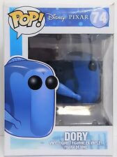 Funko Pop Dory # 74 Finding Nemo Vaulted Vinyl Figure Damaged Box