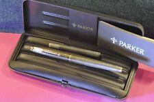 """""""Parker"""" """"75"""" Vermeil Cicelé Gold Plated St. Silver Fountain pen """"F""""nib c.1967's"""