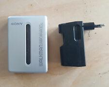 Sony walkman groove megabass, silber, funktionsfähig, mit Ladegerät, kein Akku