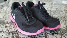 Nike Revolution 2 Black/Pink 555090-003 Shoes Size 5.5 Y eu 38 Uk 5