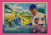 2015 Topps Update #US283 Kris Bryant Rookie RC 1 of 1 1/1 read description error