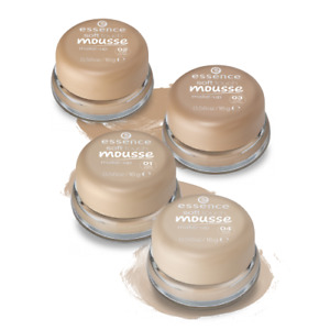 Essence Soft Touch Mousse Foundation Make Up Smooth Matte Finish Natural Look