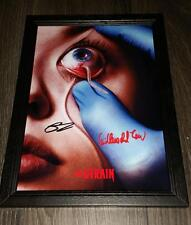 """THE STRAIN PP SIGNED FRAMED A4 12""""X8"""" PHOTO POSTER GUILLERMO DEL TORO COREY STOL"""