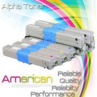 5 Pack Toner Set For OKI Data C332dn MC363dn 46508704 46508703 46508702 46508701