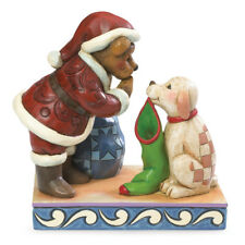 Boyds Bears & Jim Shore St. Nick w/Buster Night Before Christmas Fig. 4041911
