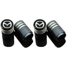 4x Car Wheel Tires Valve Stem Caps Cover for Mazda Decoration Accessories