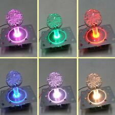 Arcade Switchable from 4 to 8 way operation Colorful LED Illuminated Joystick