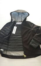 Women's GEOSPIRIT Carnelian Down Jacket Coat Black Color Size UK M/L - BNWT