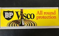 BP VISCO OIL Vintage Decal Sticker Service Station Garage