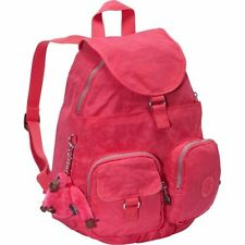 Kipling Firefly Backpack Purse School Travel Shoulder Bag Vibrant Pink  NWT