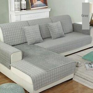 Sofa Cover Thicken Crystal Velvet Fabric Slip Resistant Slipcover Living Rooms