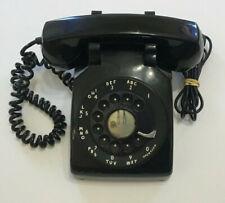 Vintage Black Rotary Northern Electric Telephone -Metal Dial - C/D 500 64