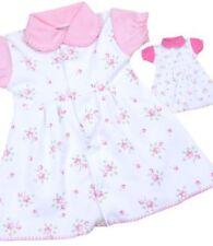 Vestidos rosas de recién nacido para niñas de 0 a 24 meses