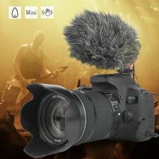 UNIVERSAL VIDEO MIC MICROPHONE CONDENSOR FOR NIKON CANON DSLR CAMERA