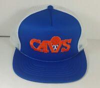 Vintage Cleveland Cavaliers Adjustable Mesh Trucker Hat Snapback Cap Retro NBA