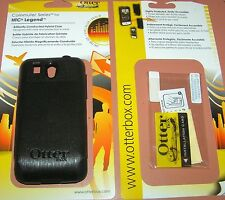 Otterbox Commuter Hybrid hard shell case HTC Legend with screen protector, Black