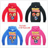 Cartoon Sonic The Hedgehog Thin hooded long sleeved top seatershirt for kids New