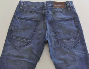 MENS SIZE 30x34  BEN SHERMAN 'ROD' STR8 LEG SKINNY  BLUE JEANS  EX-COND