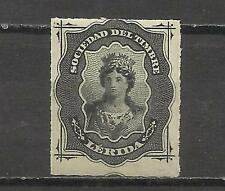 4151- MNH ** LERIDA SELLO FISCAL CLASICO SPAIN REVENUE SELLO SOCIEDAD DEL TIMBRE