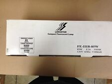6 LONGSTAR 00036 FE-IIIB-85W E26 8000 HRS DAYLIGHT FULL SPECTRUM CFL MEDIUM BASE