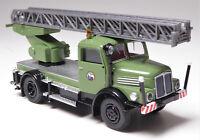 H0 BREKINA IFA S 4000-1 Drehleiterfahrzeug DL 25 VEB Energieversorgung # 71730