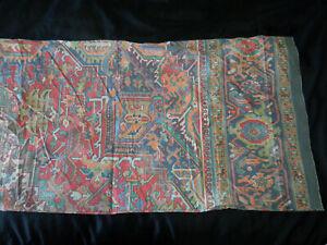 Ralph Lauren Oxfordshire Aztec King Pillowcase Pair Southwest Oriental Vintage