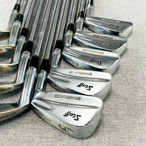 Wilson Staff Bernhard Langer Iron Set (2-P+S) Reg Flex Steel # G54