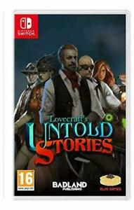 Lovecraft's Untold Stories (Nintendo Switch) (New) BRAND NEW SEALED