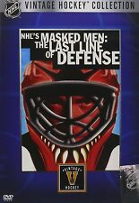 NHL's Masked Men: The Last Line of Defense DVD Movie Brand New & Sealed