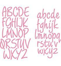 Stanz-/Prägeschablonen Collectables Alphabet Groß- und Kleinbuchstaben COL1397