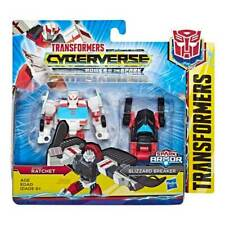 Transformers Cyberverse Spark Armor: Ratchet & Blizzard Breaker - Brand New
