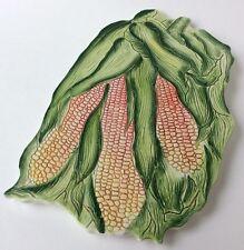 Italian Art Pottery Corn Majolica Trivet Majolica Dish Italy