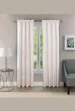 "Eclipse Samara Blackout Energy-Efficient White Curtain Thermal Panel 42""W x 84""L"