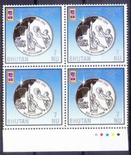 B7s- Bhutan 1996 MNH Blk, Coin, Basketball, Olympic Games, Sports, Colour Guide