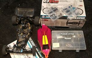 Team Associated RC10 B6.2 Team Race roller and big spares package