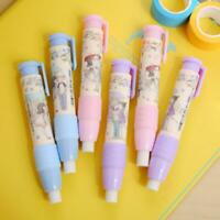Hand-press Pencil Eraser Stationery For School Office Children Supplies Gif Top