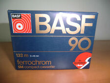 BASF Ferrochrom FeCr 90 - Type III from 1979 Audiocassette NEW / NEU Sealed! MC!