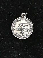 Eastern Star 75th Anniversary Grand Chapter Of Virginia OES Sterling Lot 574