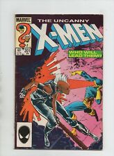 Uncanny X-Men #201 - 1st App Nathan Summers/Baby Cable - (Grade 6.0) 1986