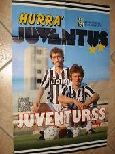 Maxi Affiches 80 X 53 FC Juventus Juve L´ Année de Sergei et Sasha Urss Vive Boy