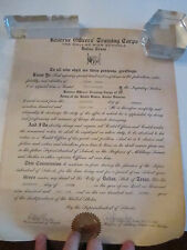 (2) 1935 RESERVE OFFICERS TRAINING CORP CERTIFICATES - TUB CCC