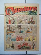 AVENTURES / NUMEROS 36  /  1 SEPTEMBRE  1937